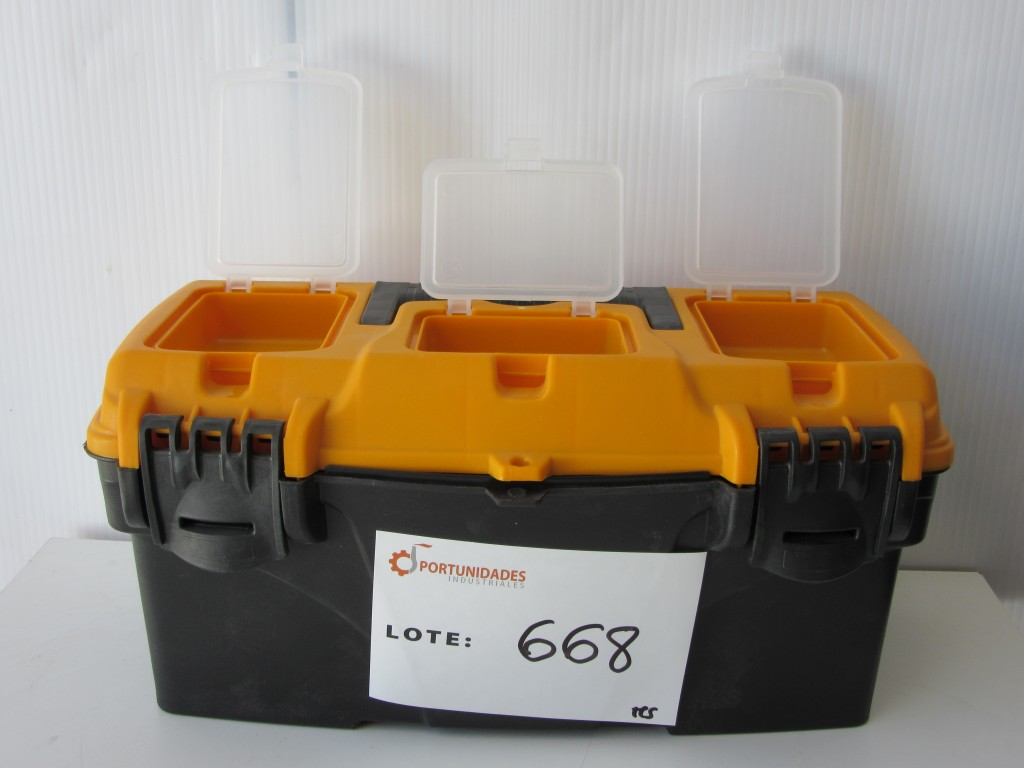 Caja de herramientas de pl stico vito - Cajas de plastico ...