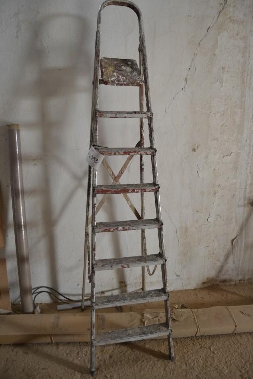 Escalera met lica 8 pelda os for Escaleras 8 peldanos