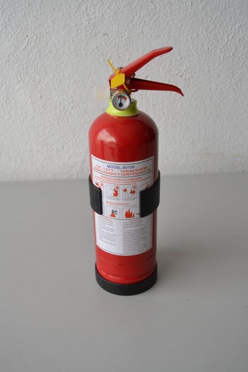 Lote 24 Unds. de Extintores 1kg ( 2 Cajas )
