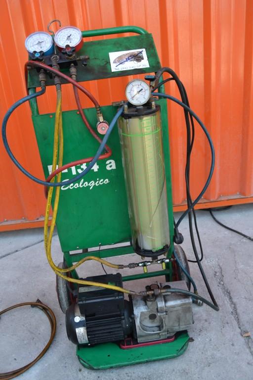 Maquina de vac o de gas refrigerante y carga de aire for Maquinas de aire acondicionado baratas
