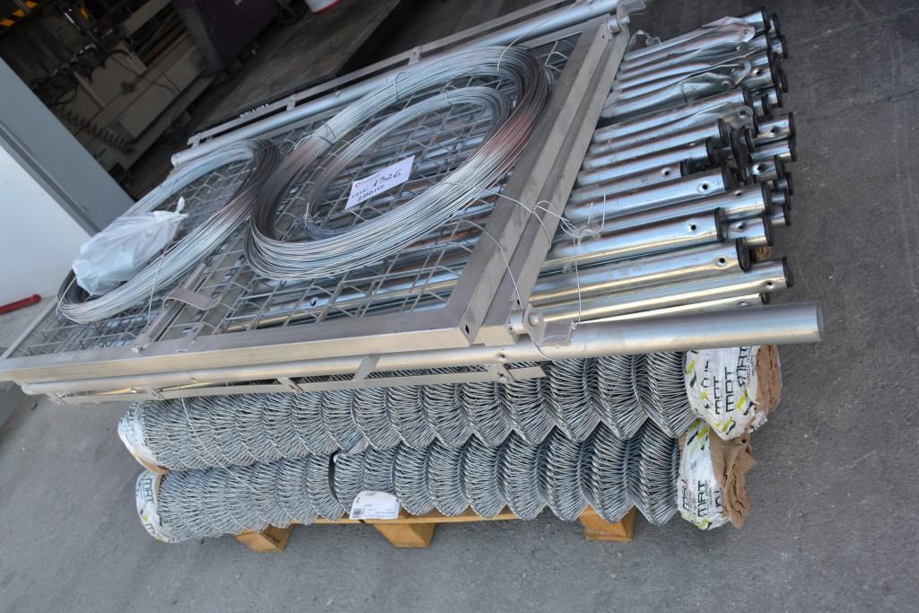 200 ML de Kit completo de malla galvanizada Simple Torsión de 1.50 MT para cerramientos.
