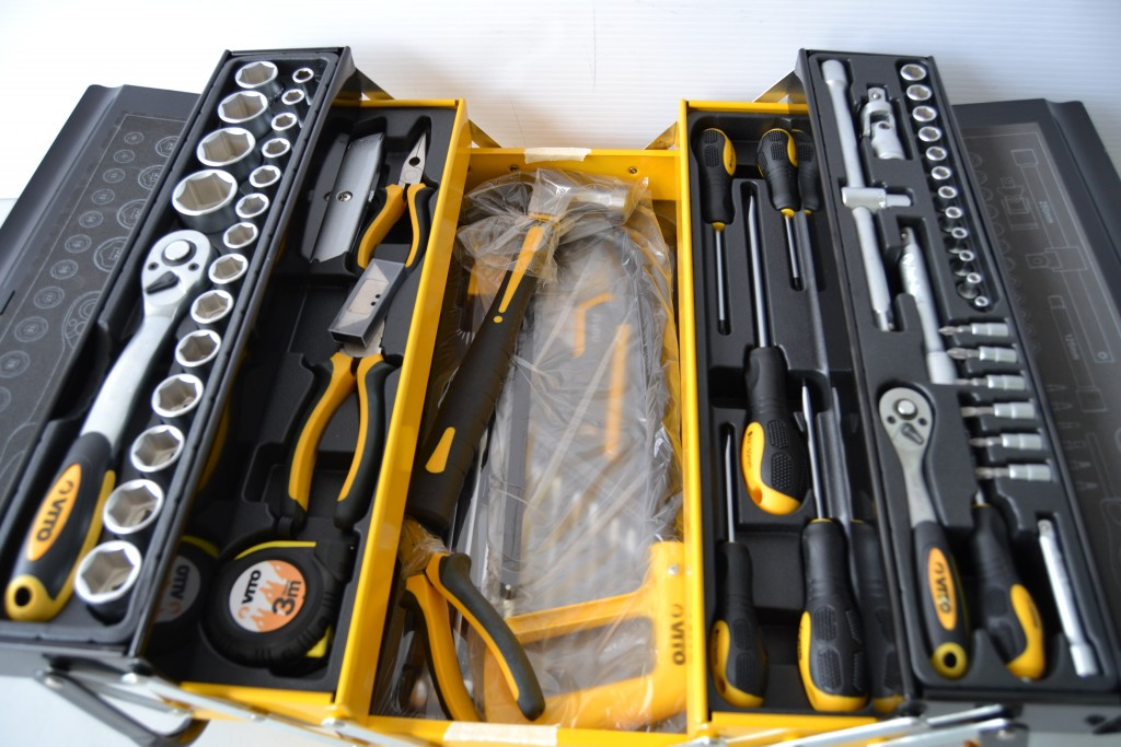 Caja herramientas met lica 88 pzas vito - Caja de herramientas metalica ...