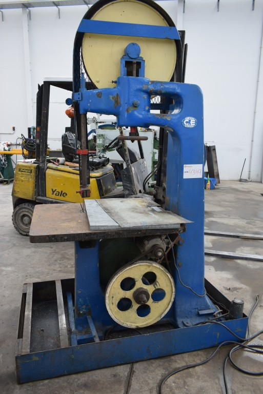 Sierra de cinta para corte de aluminio