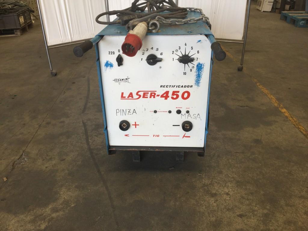 Maquina de soldadura Rectificador Laser-450 de 450 Amp