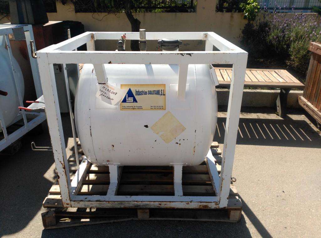Depósito de combustible de 750 mms Diámetro X 75