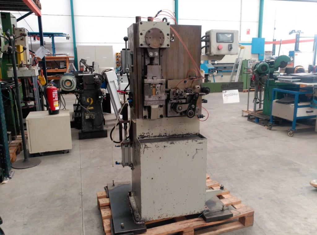 Equipo automático para deformación de alambre y fleje
