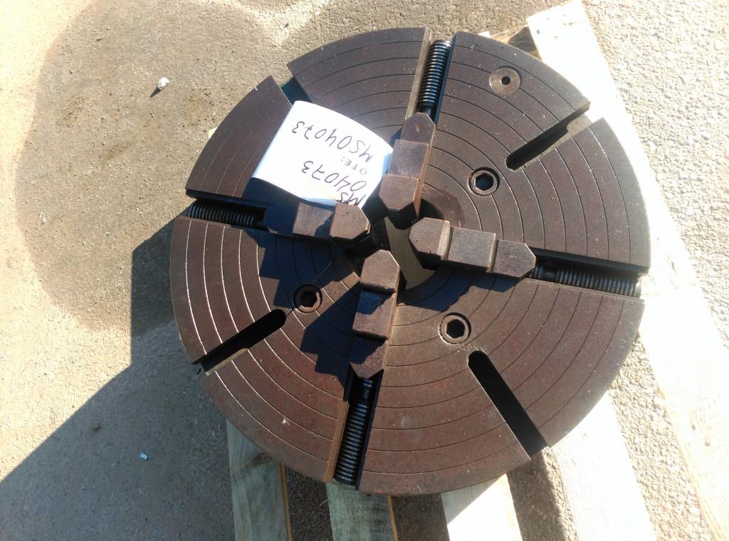 Plato de torno 500 mms diámetro