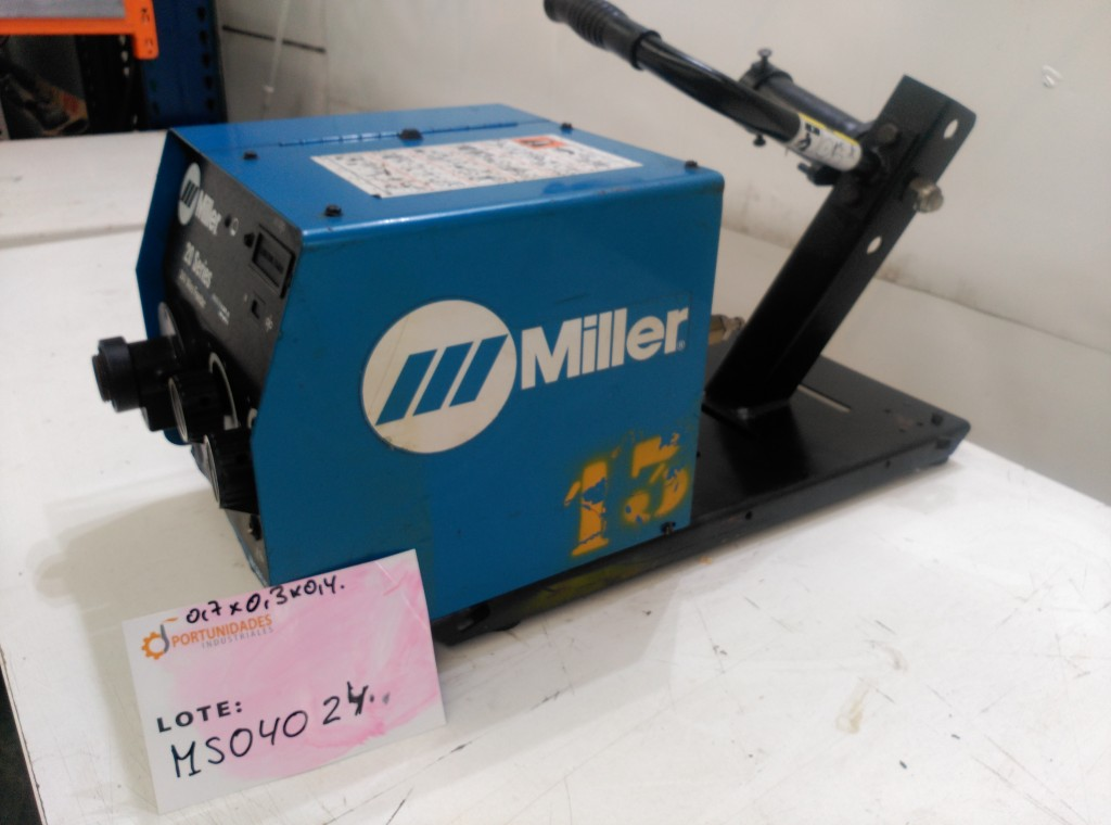 Alimentador de hilo de soldadura Miller 24 V