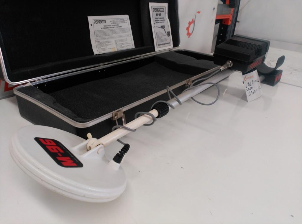 Detector de metales profesional Fisher M-96