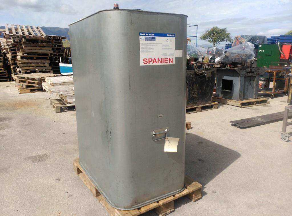 Depósito de gasoil y aceites para 1000 Lts