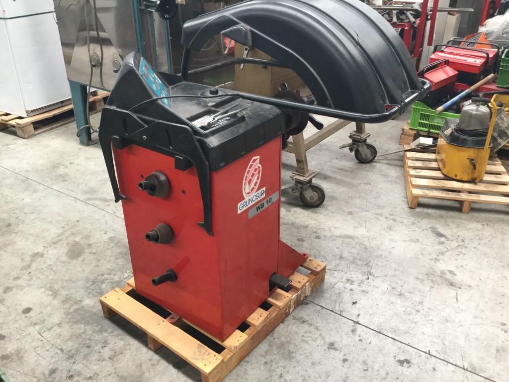 Equibradora de ruedas Gunosur WB10