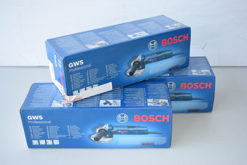 Lote 3 Uds. Amoladora Bosch GWS 7-115 diametro