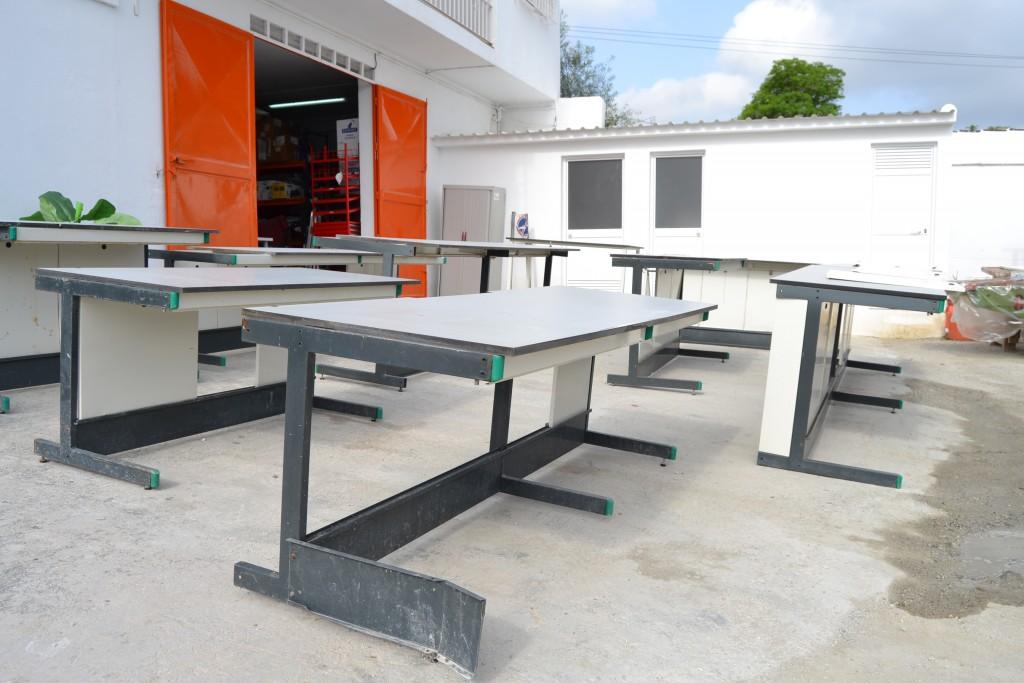 Mobiliario De Laboratorio De Materiales De Construcci N