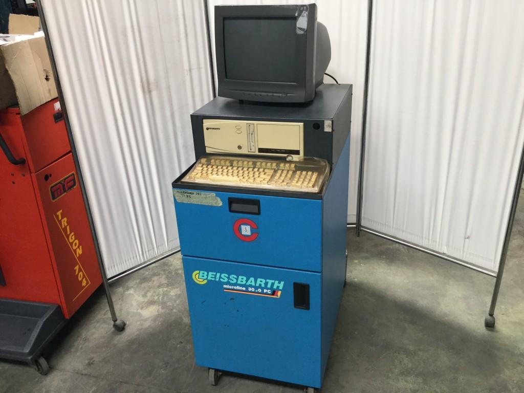 Alineadora de Ruedas Beissbarth Microline 3000 PC