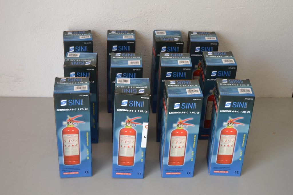 Lote 120 Unds. de Extintores 1kg ( 10 Cajas )