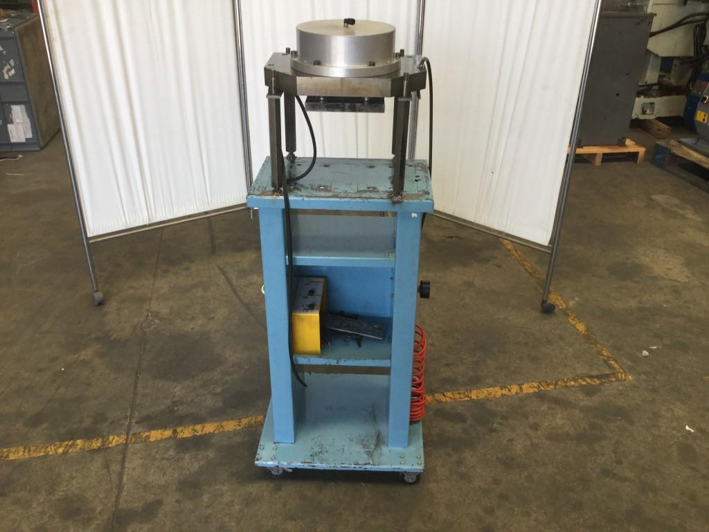 Pulmón neumático para trabajos de aluminio