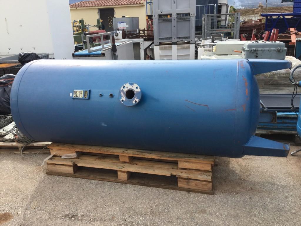 Deposito de aire de 1500 litros 8 bar