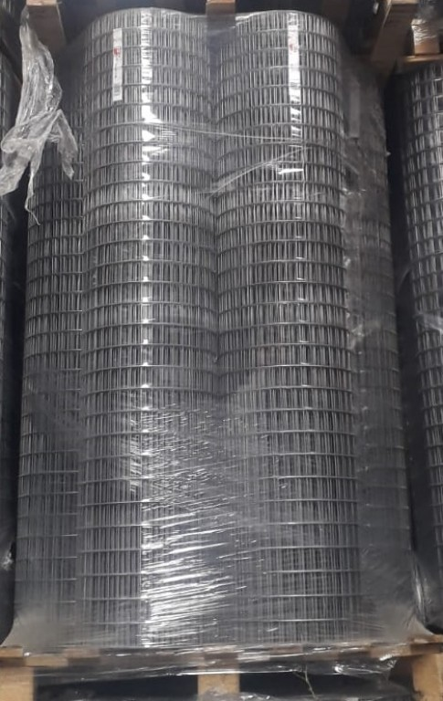 10 rollos malla soldada 50x25x1.90mm de 1.50 alto (rollo 25m)