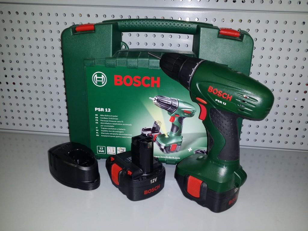 Atornillador a bateria bosch psr 12 atornillador a - Taladro bateria barato ...
