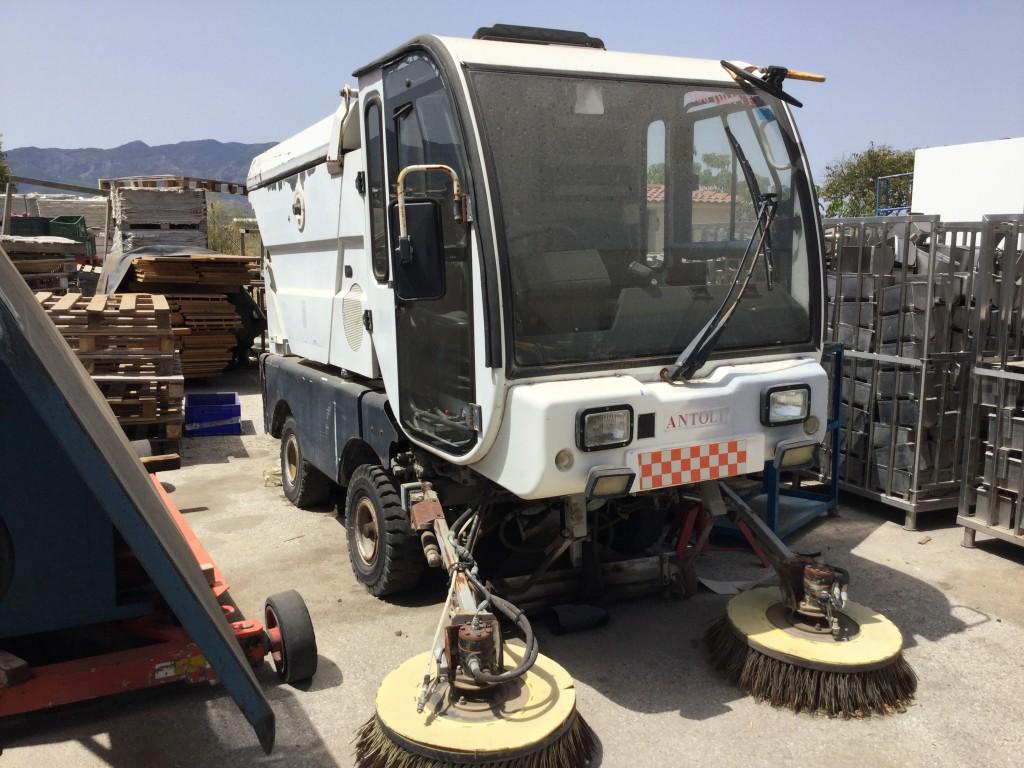 Auto barredora Industrial Antoli 200 Driver