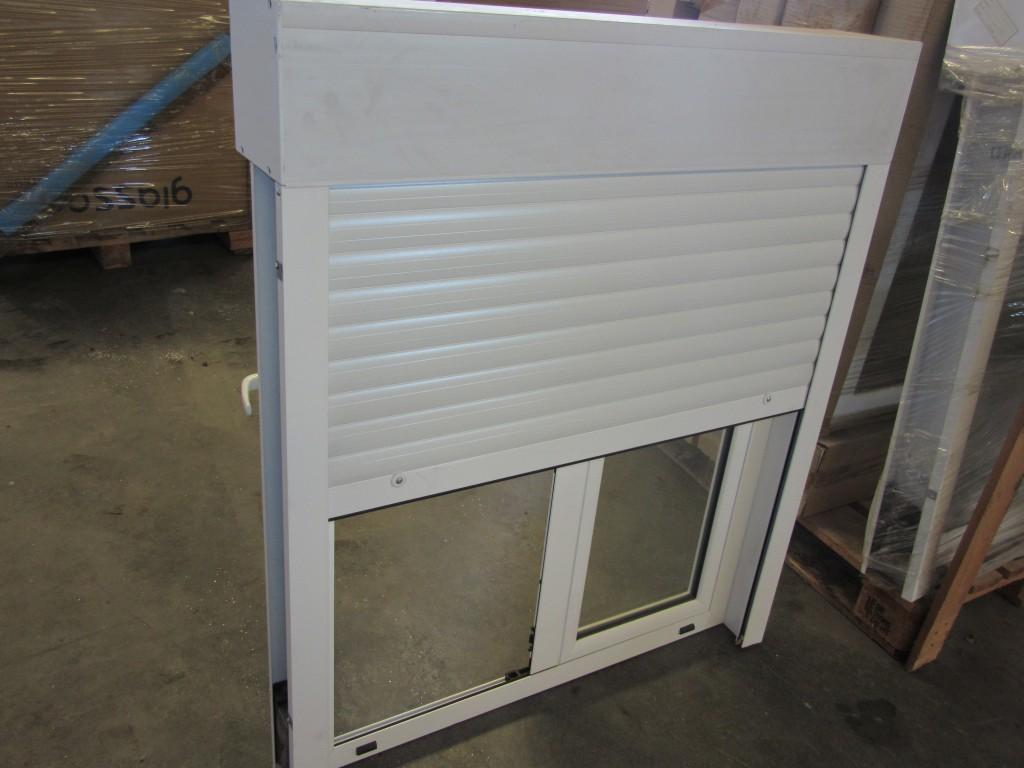 Ventana oscilobatiente con persiana de aluminio - Persiana veneciana de aluminio ...