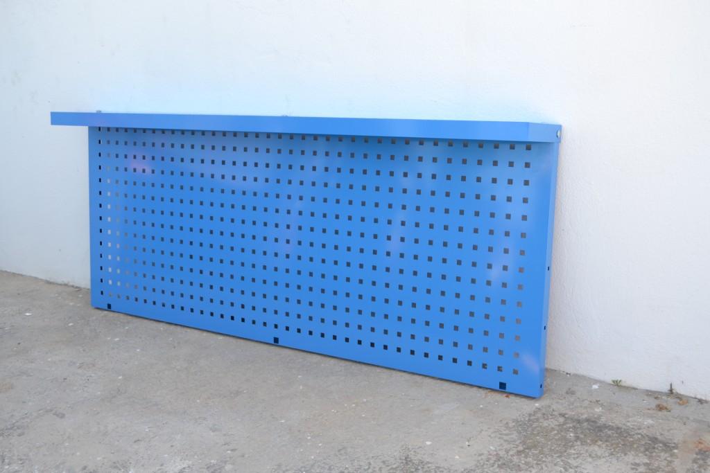 Panel Portaherramientas Perforado con Visera azul 7a34e9405515