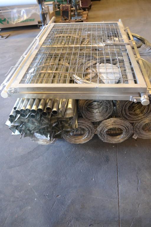 300 ML Kit completo de malla ganadera de 1.50 Mt para cerramientos.